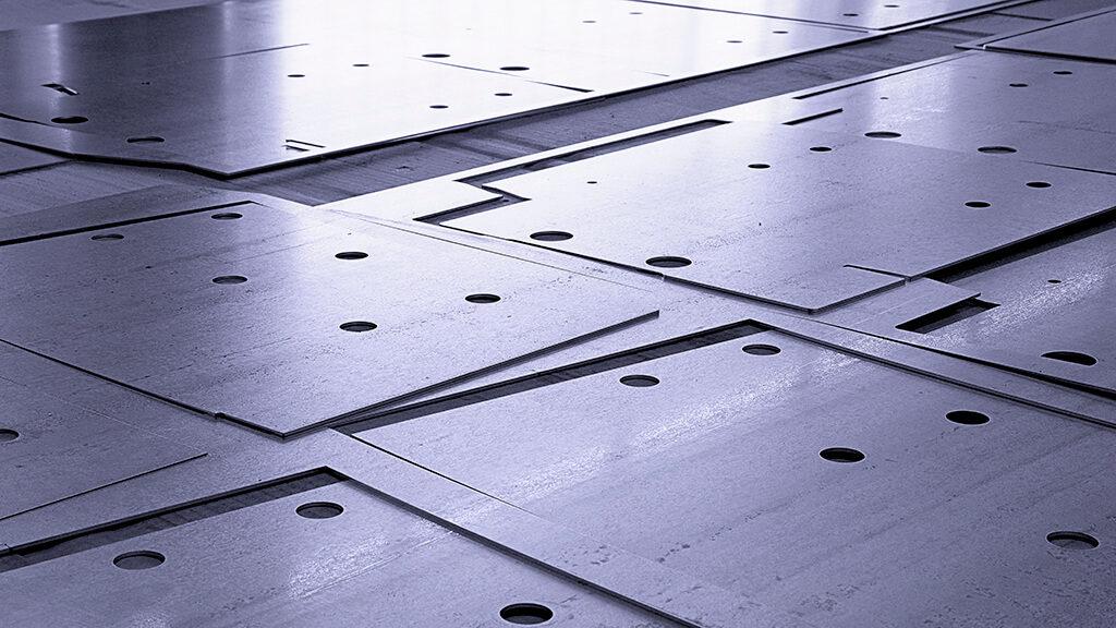 Detailbild Laserschneiden - alpin production GmbH & Co Vertriebs KG - Untergriesbach