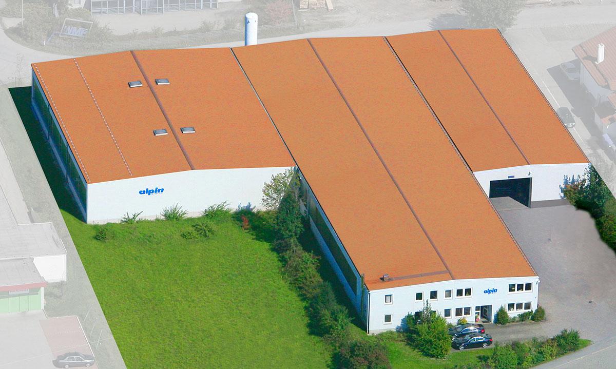 Firmenansicht Draufsicht - alpin production GmbH & Co Vertriebs KG - Untergriesbach